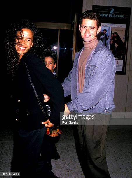 C Thomas Howell and Rae Dawn Chong at the Premiere of 'Side Out' Cineplex Odeon Cinemas Century City