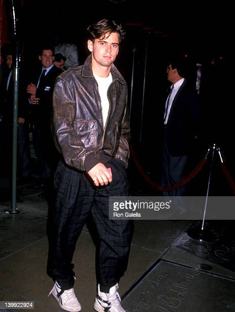 C Thomas Howell at the Premiere of 'U2 Rattle and Hum' Mann's Chinese Theatre Hollywood