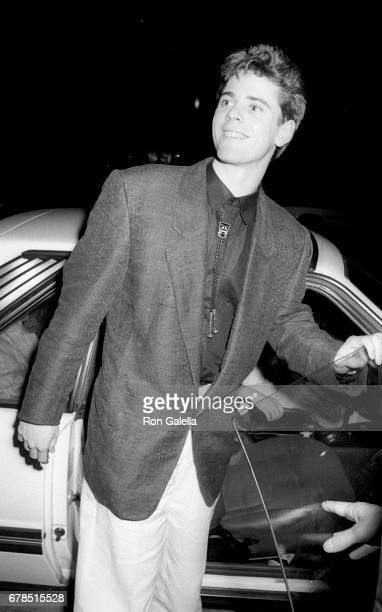 C Thomas Howell attends 'The Hitcher' Premiere on February 18 1986 at Mann National Theater in Westwood California