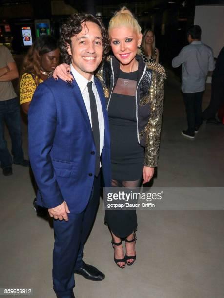 Thomas Ian Nicholas and Tara Reid are seen on October 09 2017 in Los Angeles California
