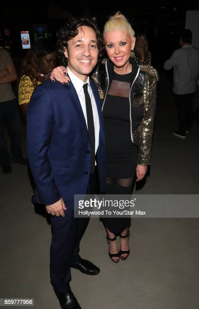 Thomas Ian Nicholas and Tara Reid is seen on October 9 2017 in New York City
