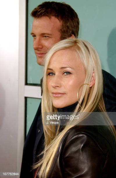 Thomas Jane and Patricia Arquette during 'The Punisher' Los Angeles Premiere Red Carpet at ArcLight Theater in Hollywood California United States