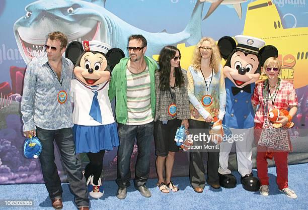 Thomas Jane David Arquette Courteney Cox Lisa Kudrow and Patricia Arquette
