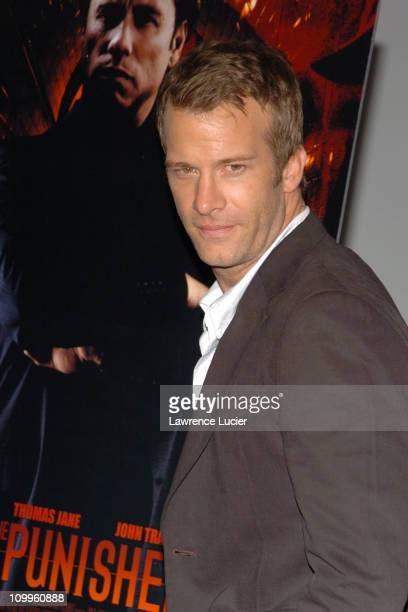 Thomas Jane during The Punisher New York Premiere at Loews Astor Plaza One in New York City New York United States