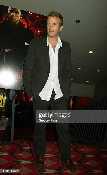 Thomas Jane during 'The Punisher' New York Premiere at Loews Astor Plaza One in New York City New York United States