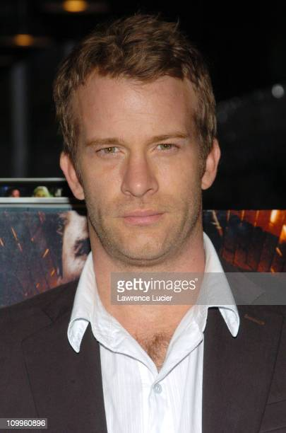 Thomas Jane during Thomas Jane In Store Appearance to Promote The Punisher April 15 2004 at Midtown Comics in New York City New York United States