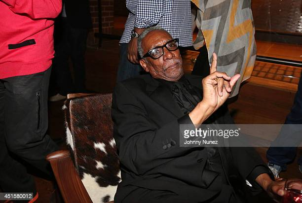 Thomas Jefferson Byrd attends 'Da Sweet Blood Of Jesus' cast and crew special screening after party at Hudson Hotel on June 23 2014 in New York City