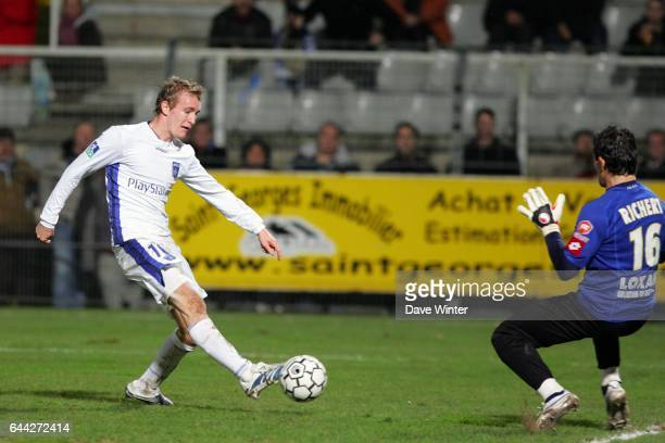 Thomas KAHLENBERG Auxerre / Sochaux 20 eme Journ╚e L1 Photo Dave Winter / Icon Sport