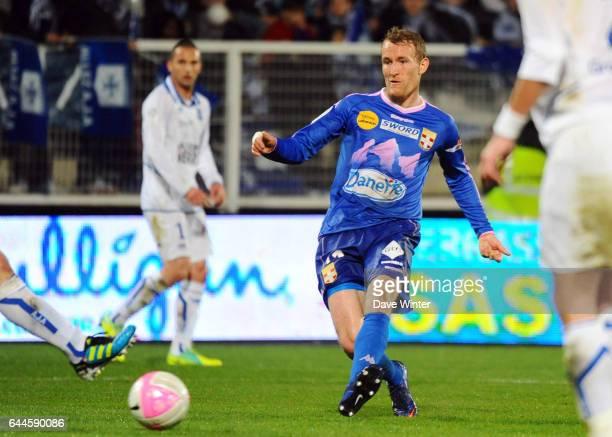 Thomas KAHLENBERG Auxerre / Evian Thonon 28eme journee de Ligue 1 Photo Dave Winter / Icon Sport