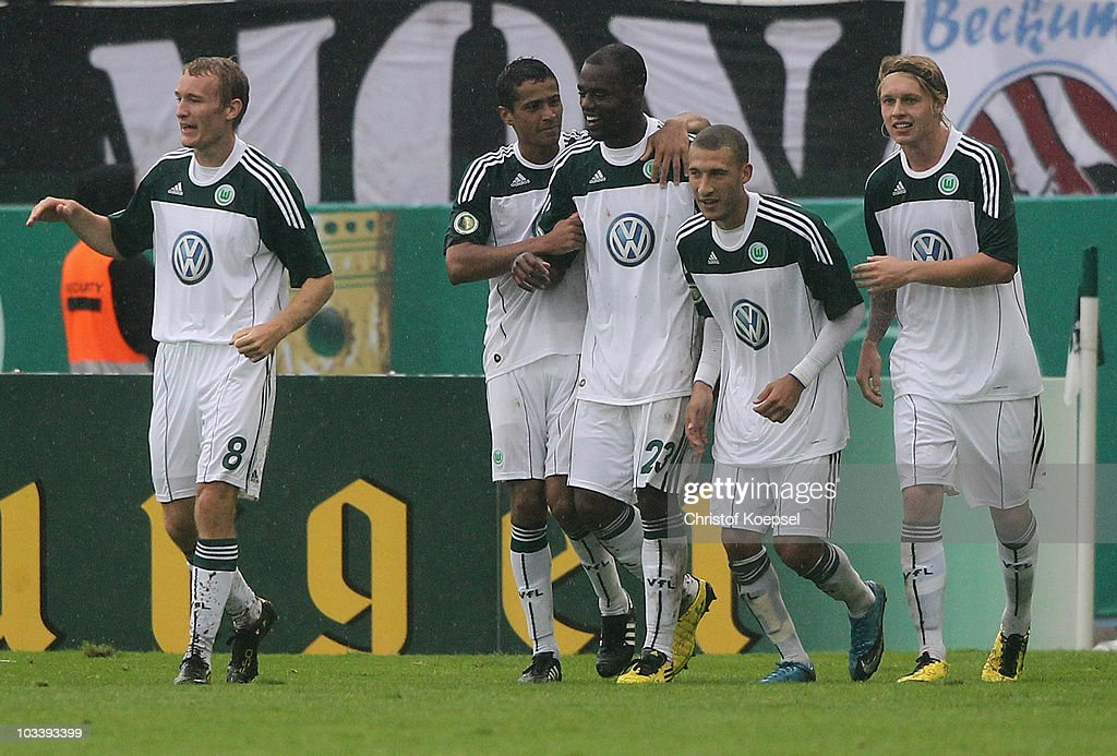 Preussen Muenster v VfL Wolfsburg - DFB Cup