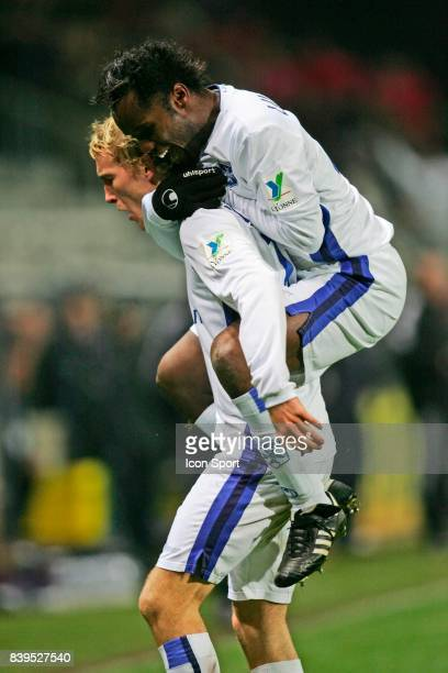 Thomas KAHLENBERG / Peguy LUYINDULA Auxerre / Monaco 20eme journv⌐e de Ligue 1