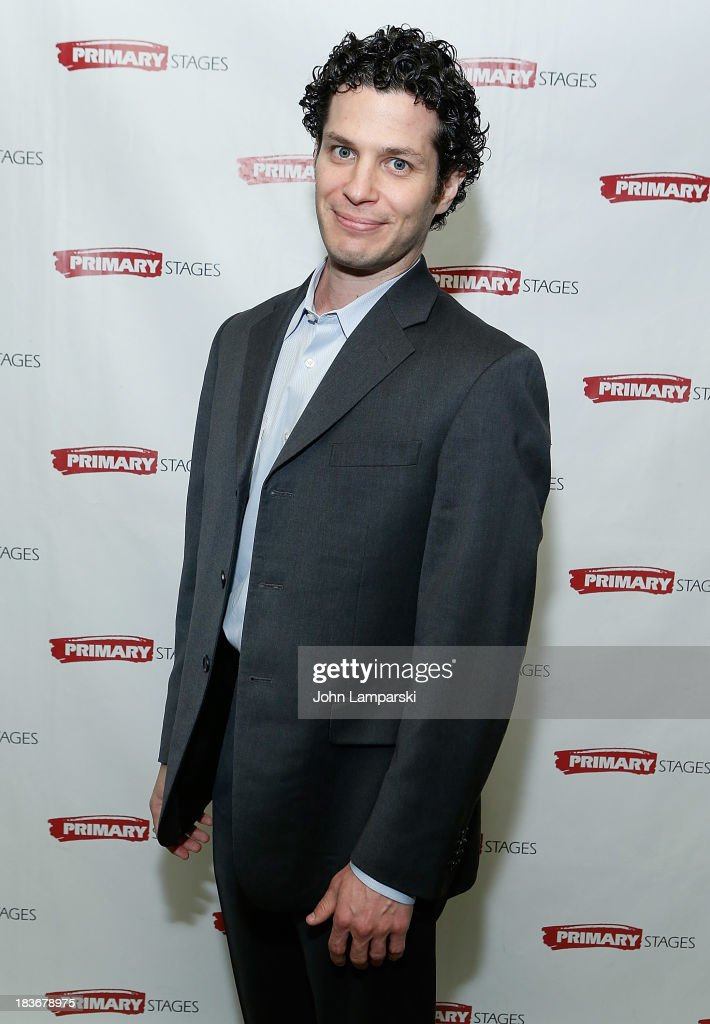 Thomas Kail attends 'Bronx Bombers' Opening Night - After Party at West Bank Cafe on October 8, 2013 in New York City.