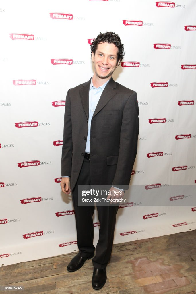 Thomas Kail attends the after party for the opening night of the 'Bronx Bombers' at West Bank Cafe on October 8, 2013 in New York City.