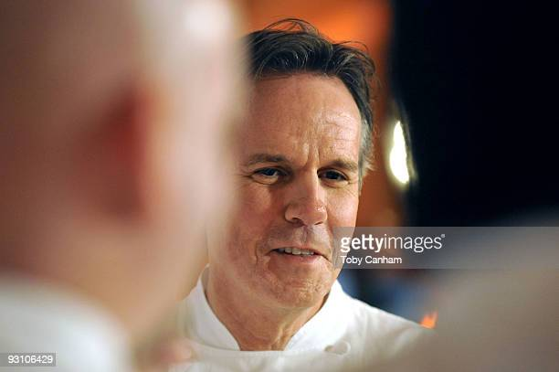 Thomas Keller attends the grand opening of Thomas Keller's Bouchon in Beverly Hills on November 16 2009 in Beverly Hills California