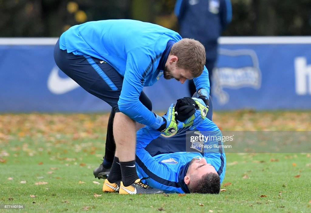 Hertha BSC training