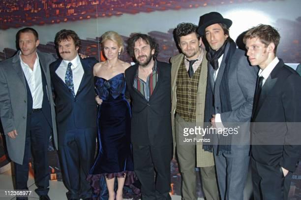 Thomas Kretschmann Jack Black Naomi Watts Peter Jackson Andy Serkis Adrien Brody and Jamie Bell