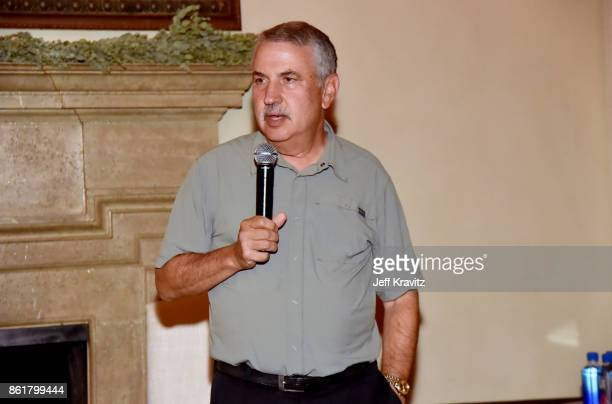 Thomas L Friedman at an Evening With Thomas L Friedman and Common Sense Media on October 15 2017 at the Bel Air Bay Club in Pacific Palisades CA