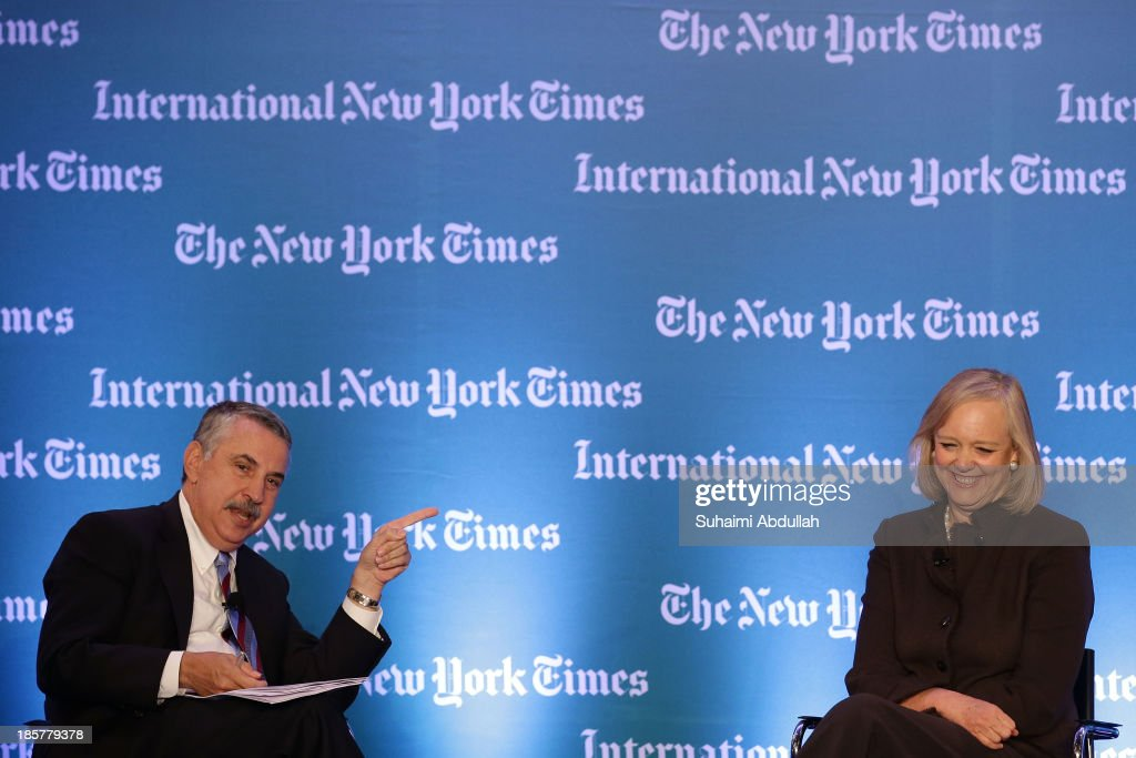 International New York Times Global Forum Singapore - Thomas L. Friedman's The Next New World - Inside