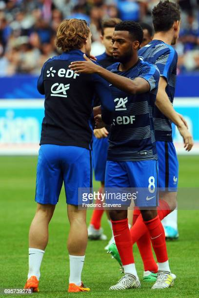 Thomas Lemar forward of France Football team during the International friendly match between France and England held at Stade de France on Juin 13...