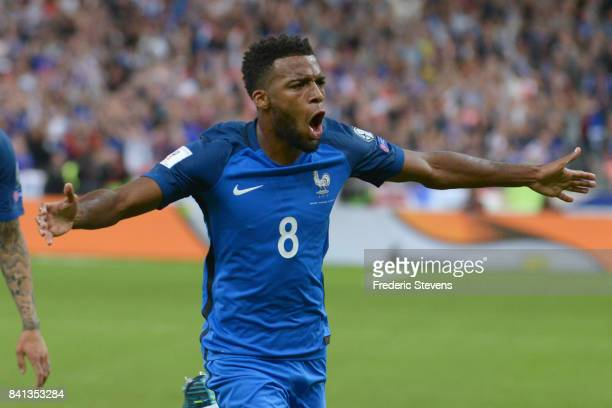 Thomas Lemar midfielder of France Football team duringthe FIFA 2018 World Cup Qualifier between France and Nederlands at Stade de France on August 31...