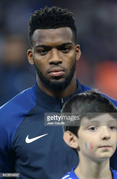 Thomas Lemar of France during the FIFA 2018 World Cup Qualifier between France and Luxembourg at the Stadium on September 3 2017 in Toulouse France