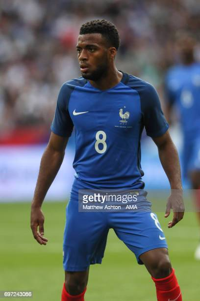 Thomas Lemar of France during the International Friendly between France and England on June 13 2017 in Paris France