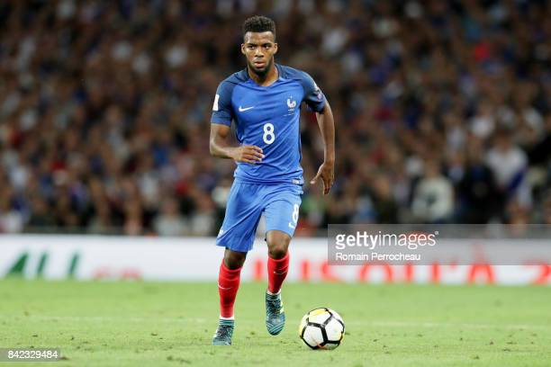 Thomas Lemar of France in action during the FIFA 2018 World Cup Qualifier between France and Luxembourg at Stadium on September 3 2017 in Toulouse...