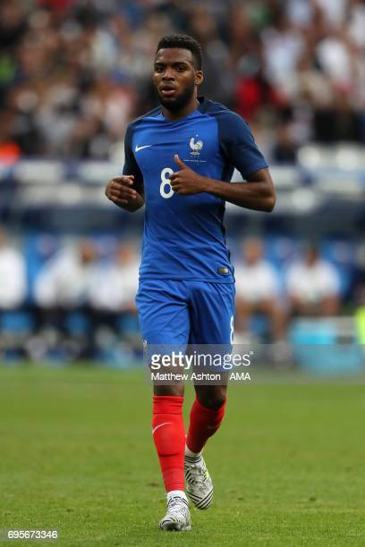 Thomas Lemar of France in action during the International Friendly match between France and England at Stade de France on June 13 2017 in Paris France