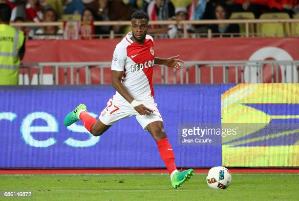 Thomas Lemar of Monaco during the French Ligue 1 match between AS Monaco and AS SaintEtienne at Stade Louis II on May 17 2017 in Monaco Monaco