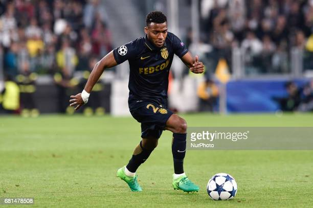Thomas Lemar of Monaco during the UEFA Champions League SemiFinal game 2 match between Juventus and Monaco at the Juventus Stadium Turin Italy on 9...