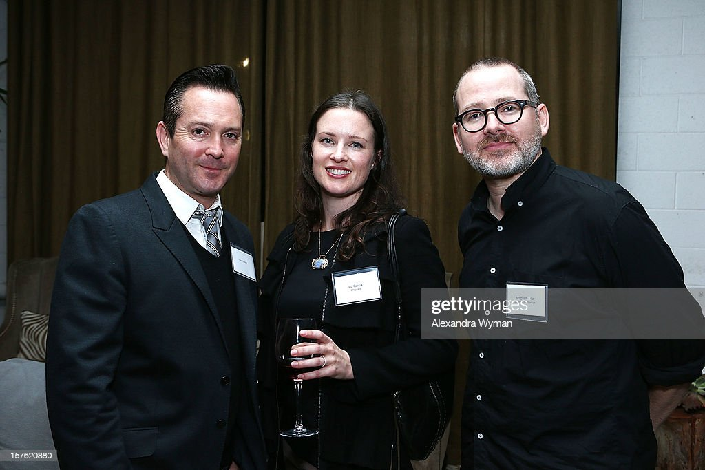 <a gi-track='captionPersonalityLinkClicked' href=/galleries/search?phrase=Thomas+Lennon&family=editorial&specificpeople=559662 ng-click='$event.stopPropagation()'>Thomas Lennon</a>, Liz Garcia and Morgan Neville at The Sundance Film Festival Filmmaker Orientation reception held at The Palihouse Holloway on December 4, 2012 in West Hollywood, California.