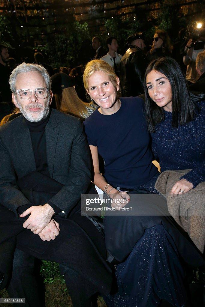 Christian Dior : Front Row - Paris Fashion Week - Haute Couture Spring Summer 2017
