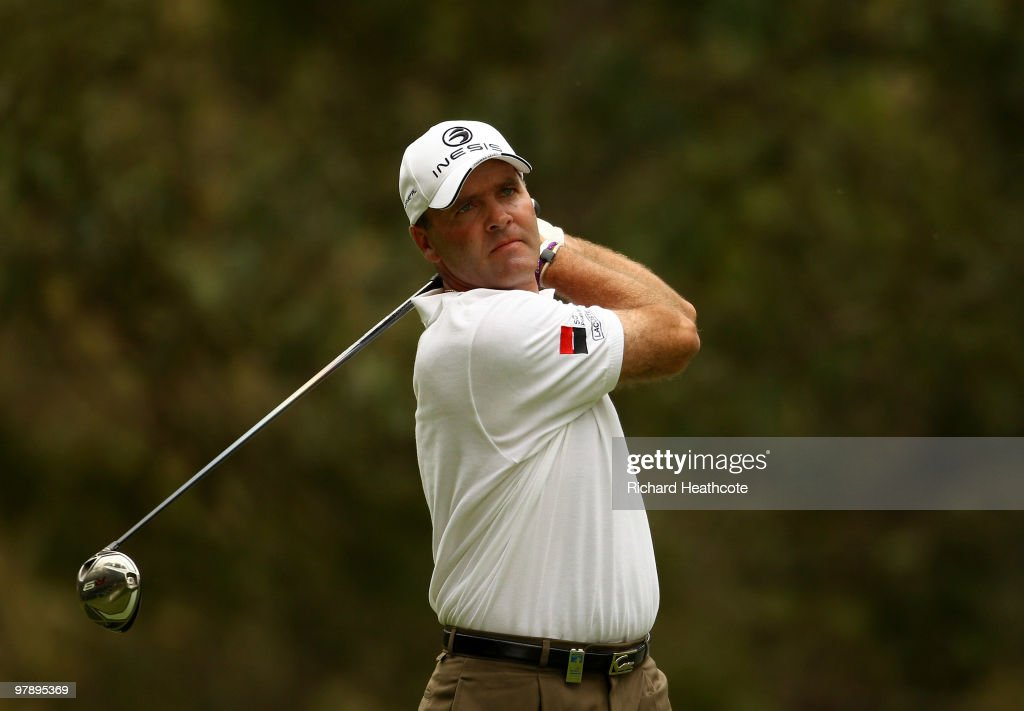 <a gi-track='captionPersonalityLinkClicked' href=/galleries/search?phrase=Thomas+Levet&family=editorial&specificpeople=203326 ng-click='$event.stopPropagation()'>Thomas Levet</a> of France tee's off at the 5th during the third round of the Hassan II Golf Trophy at Royal Golf Dar Es Salam on March 20, 2010 in Rabat, Morocco.
