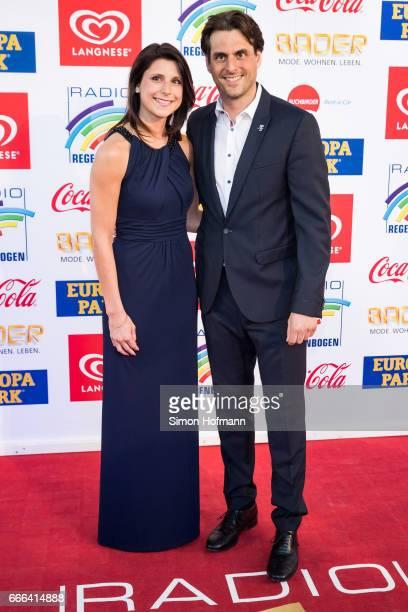 Thomas Mack and Katja Mack attend the Radio Regenbogen Award 2017 at Europapark on April 7 2017 in Rust Germany