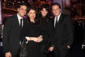 Thomas Mack with his wife Katja Mack and his brother Michael Mack and his wife Miriam during the 20th Annual Jose Carreras Gala on December 18 2014...