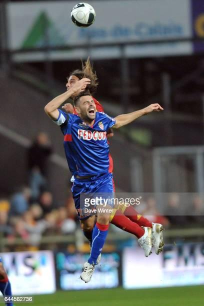Thomas MANGANI / Pascal BERENGUER Lens / Monaco 5eme journee de Ligue 2 Photo Dave Winter / Icon Sport