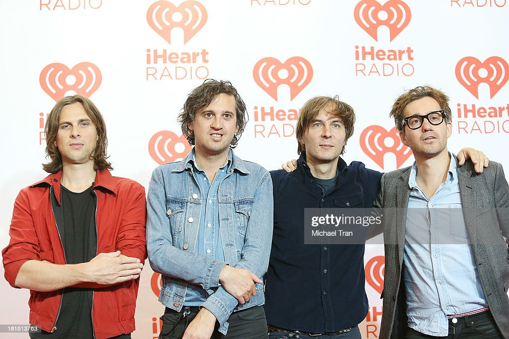 <a gi-track='captionPersonalityLinkClicked' href=/galleries/search?phrase=Thomas+Mars&family=editorial&specificpeople=601095 ng-click='$event.stopPropagation()'>Thomas Mars</a>, <a gi-track='captionPersonalityLinkClicked' href=/galleries/search?phrase=Deck+d%27Arcy&family=editorial&specificpeople=7935410 ng-click='$event.stopPropagation()'>Deck d'Arcy</a>, Christian Mazzalai and <a gi-track='captionPersonalityLinkClicked' href=/galleries/search?phrase=Laurent+Brancowitz&family=editorial&specificpeople=5929778 ng-click='$event.stopPropagation()'>Laurent Brancowitz</a> of Phoenix arrive at the iHeartRadio Music Festival - press room - Day 2 held on September 21, 2013 in Las Vegas, Nevada.