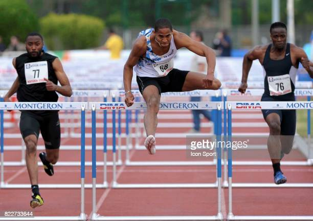 Thomas MARTINOT LAGARDE 110 metre haies Meeting de Montgeron