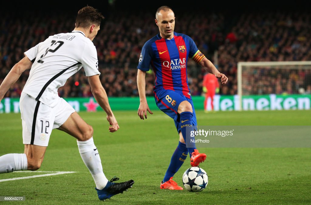FC Barcelona v Paris Saint-Germain - UEFA Champions League Round of 16: Second Leg : News Photo