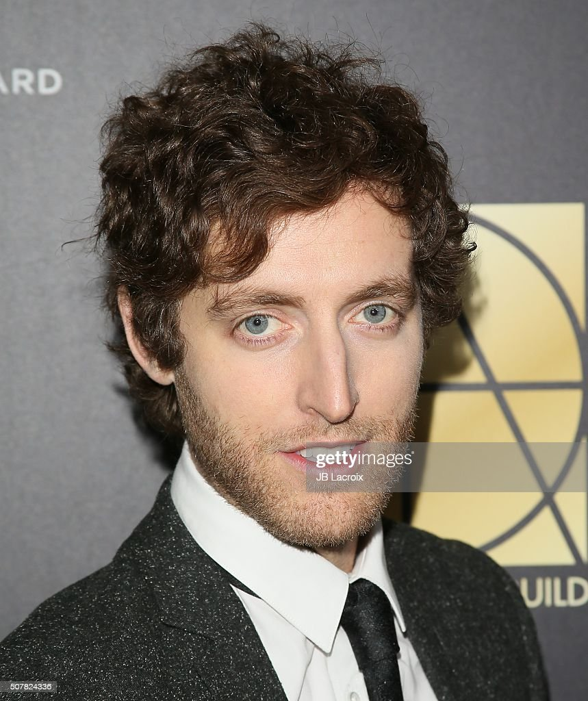 Thomas Middleditch attends the Art Directors Guild 20th Annual Excellence in Production Awards at The Beverly Hilton Hotel on January 31 2016 in...