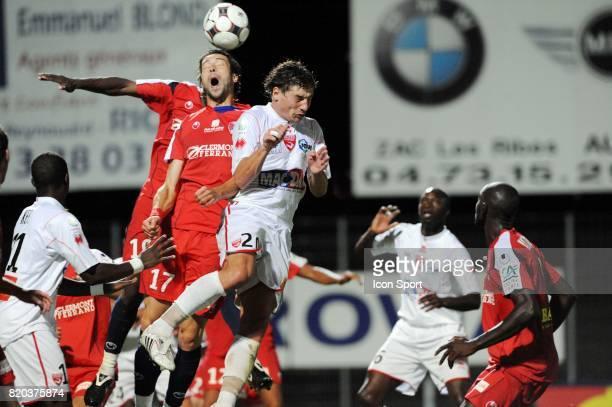 Thomas MIENNIEL / Mehdi MOSTEFA Clermont / Nimes 3eme journee de Ligue 2