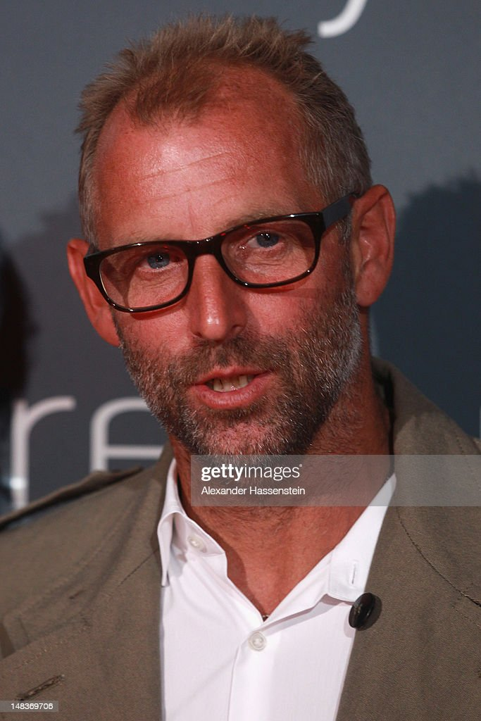 Thomas Muster arrives for the Mercedes Cup Charity Players Night at Breuningers during the Mercedes Cup 2012 at the TC Weissenhof on July 14, 2012 in Stuttgart, Germany.