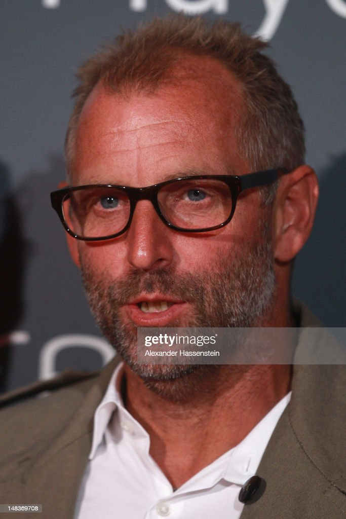 Thomas Muster arrives for the Mercedes Cup Charity Players Night at Breuningers during the Mercedes Cup 2012 at the TC Weissenhof on July 14 2012 in...