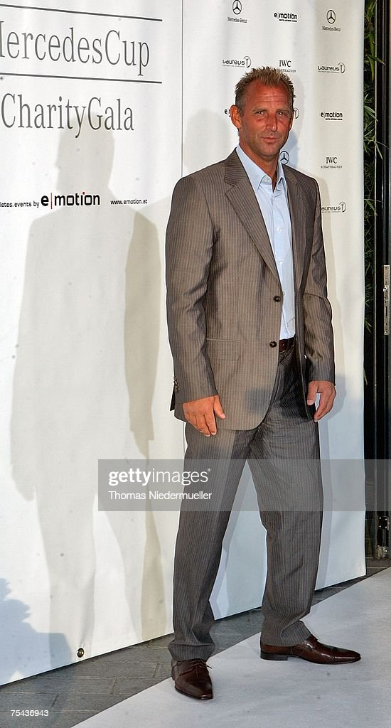 Thomas Muster attends The Laureus Charity Gala at the Mercedes Museum Museum on July 16 2007 in Stuttgart Germany