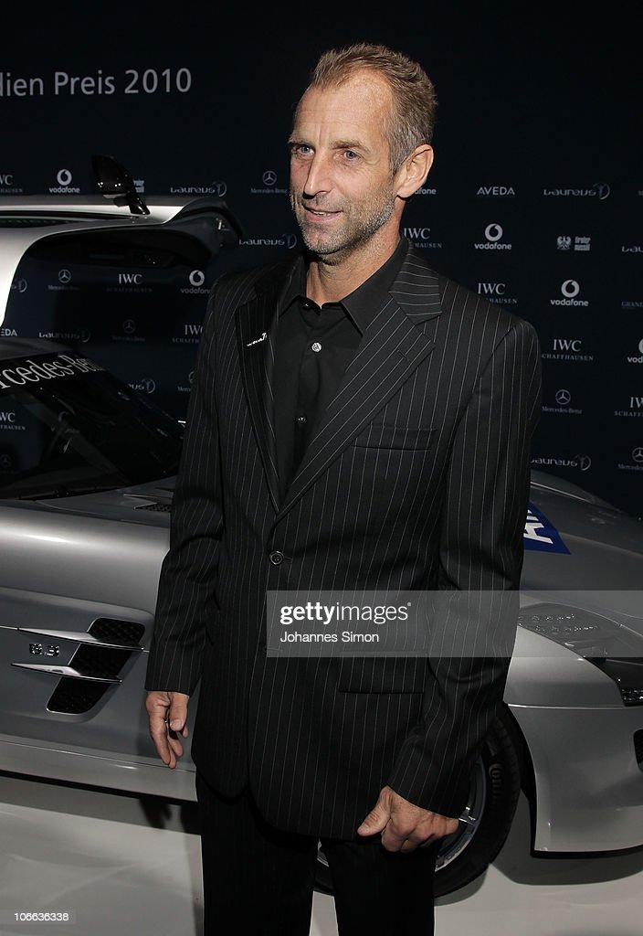 Thomas Muster attends the Laureus Media Award 2010 at Grand Tirolia Golf Ski Resort on November 8 2010 in Kitzbuehel Austria