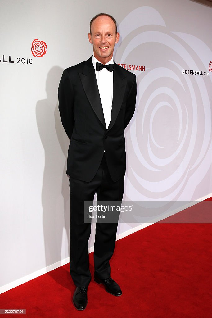 Thomas Rabe attends the Rosenball 2016 on April 30, 2016 in Berlin, Germany.
