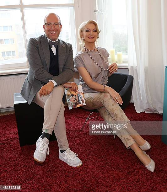 Thomas Rath and Desiree Nick attend the Fashion Meets Lifestyle Event at Postbahnhof on January 20 2015 in Berlin Germany
