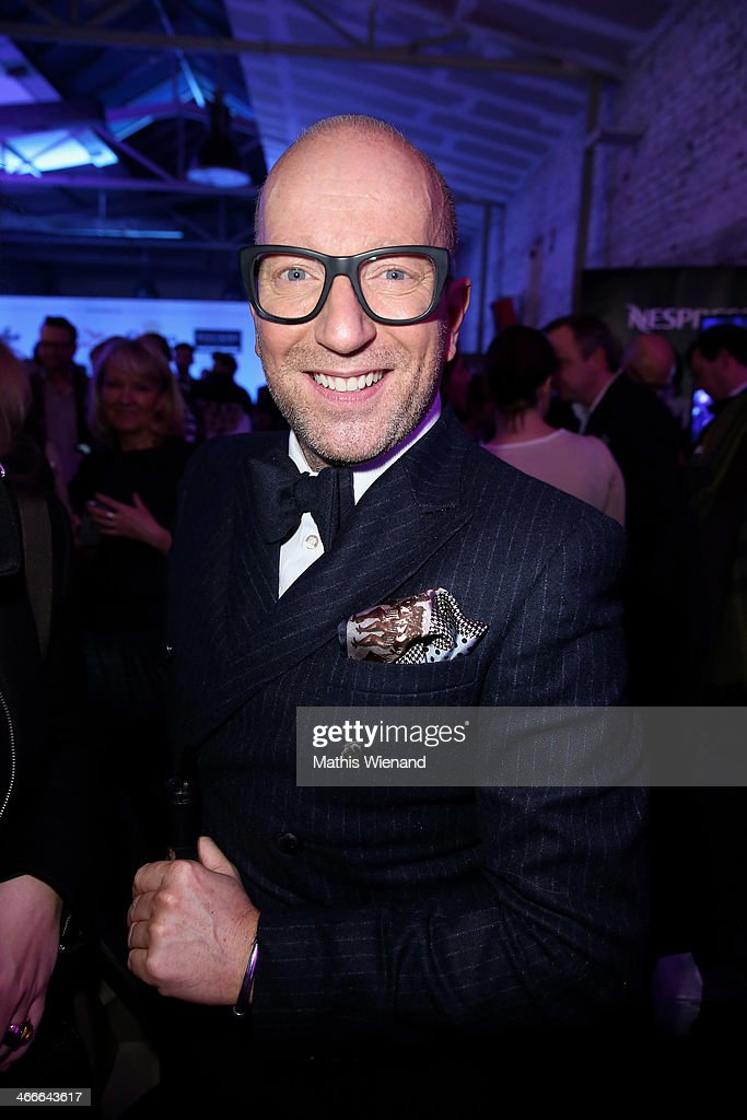 Thomas Rath attends the Thomas Rath fashion show during Platform Fashion Dusseldorf on February 2, 2014 in Dusseldorf, Germany.
