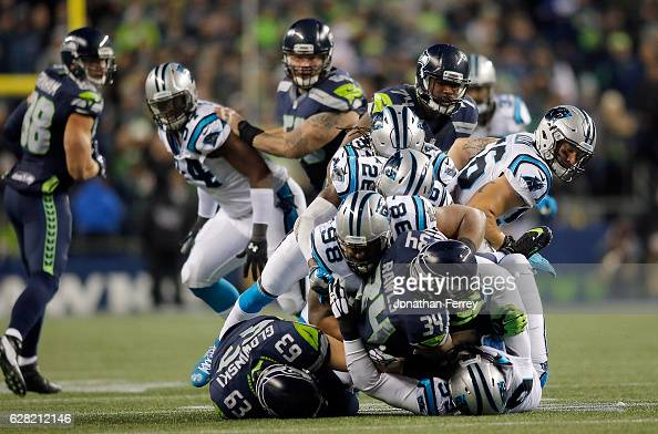 Carolina Panthers v Seattle Seahawks : News Photo