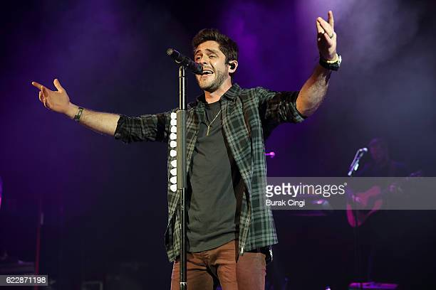 Thomas Rhett performs at O2 Shepherd's Bush Empire on November 12 2016 in London England